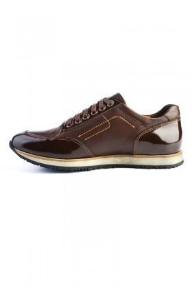 Pandew Kahverengi PNDW-8093 Hakiki Deri Erkek Ayakkabı