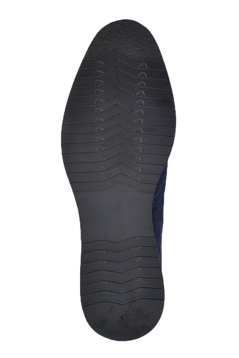 Pandew Lacivert PNDW-211 Hakiki Deri Erkek Ayakkabı