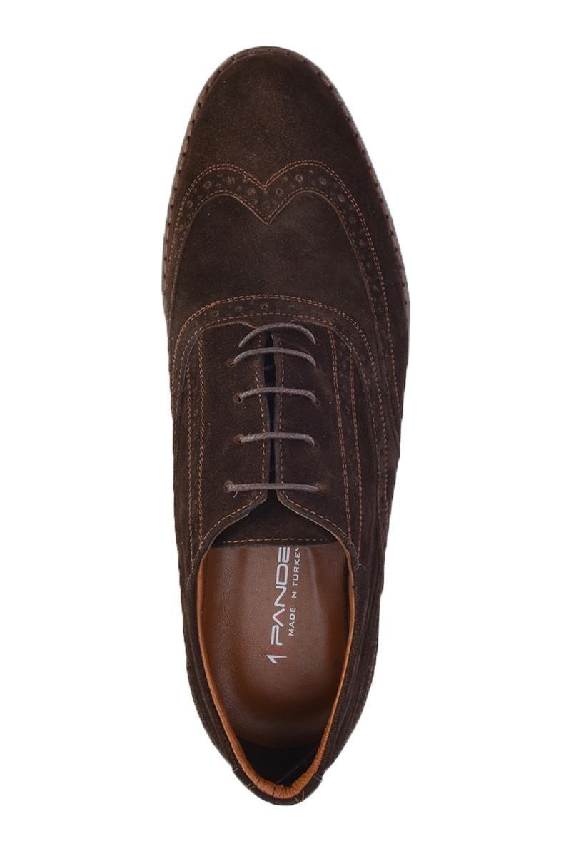 Pandew Kahverengi PNDW-211 Hakiki Deri Erkek Ayakkabı