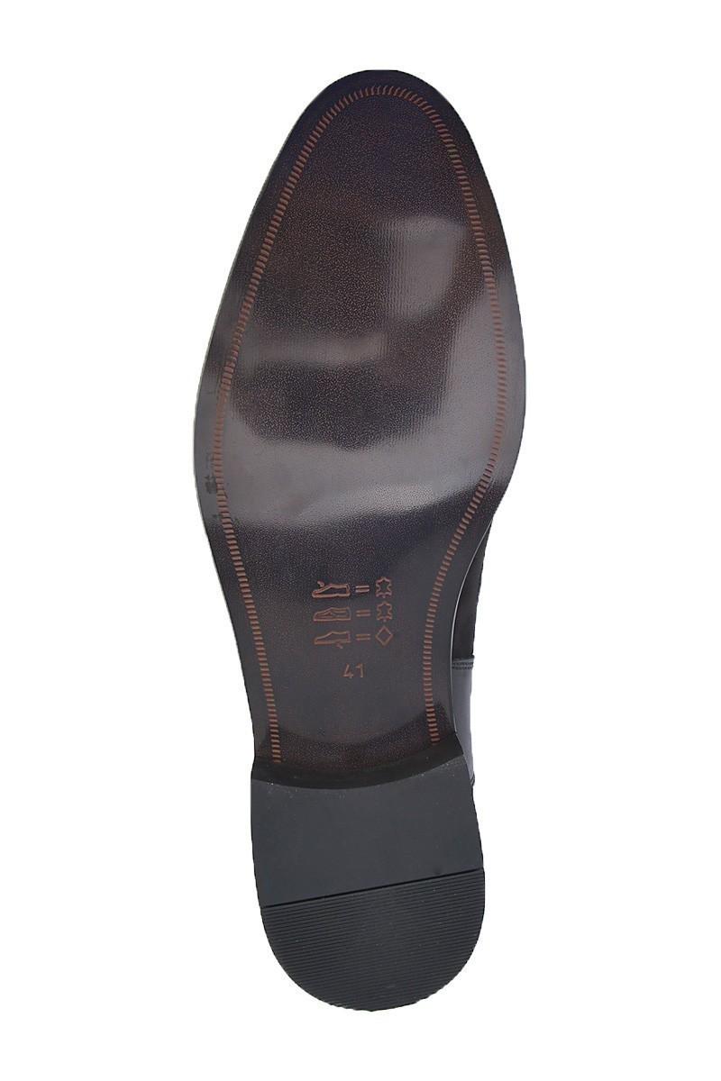 Wenetti Siyah WNT-002 Hakiki Deri Erkek Klasik Ayakkabı
