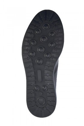 Pandew Siyah-Bordo PNDW-8080 Hakiki Deri Erkek Ayakkabı