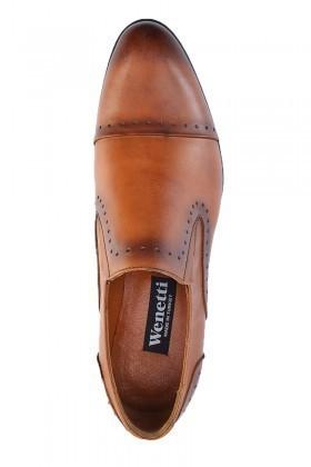 Wenetti Taba WNT-1800 Hakiki Deri Erkek Klasik Ayakkabı