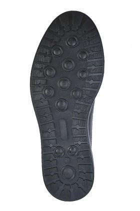 Pandew Siyah-Bordo PNDW-8080-YILAN Hakiki Deri Erkek Ayakkabı