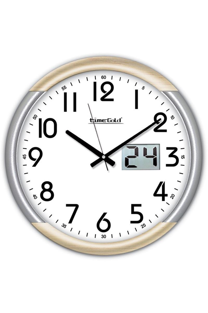 BS Beyaz BS-TG205GT Büyük Dijital Dekoratif Duvar Saati