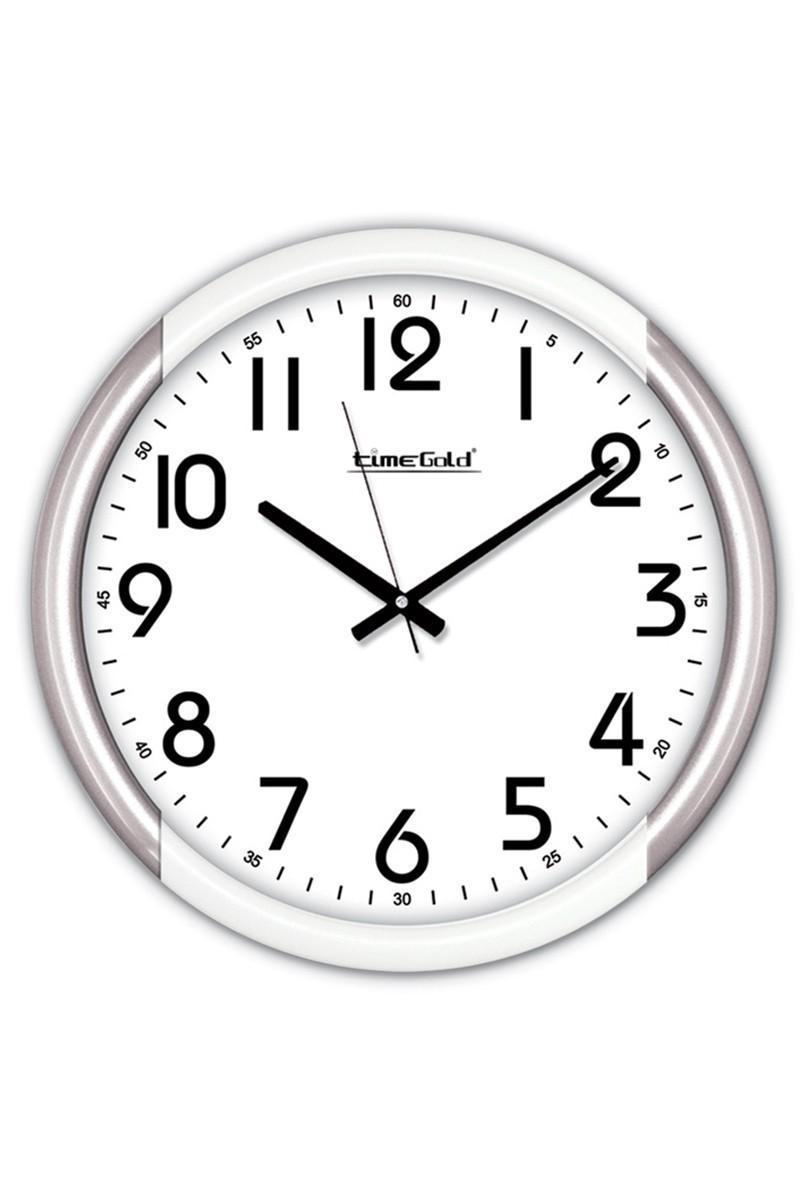 BS Beyaz BS-TG205G Dekorafif Duvar Saati