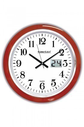 BS Kırmızı-Beyaz BS-TG190AGT Dijital Duvar Saati