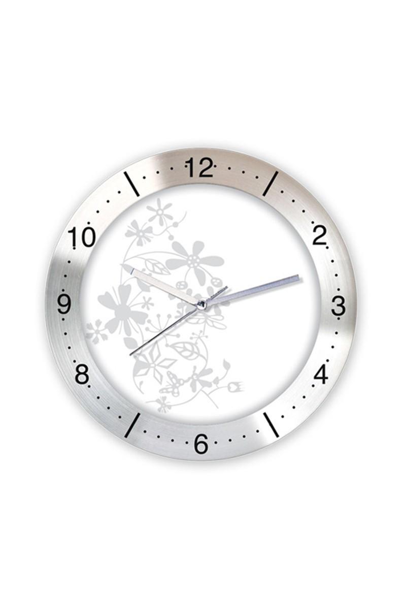 BS Beyaz BS-TG166-2 Metal Duvar Saati