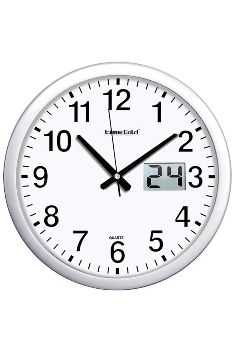 BS Beyaz BS-TG164TG Sade Dijital Duvar Saati