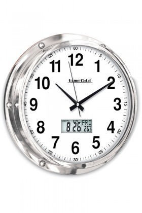 BS Beyaz BS-TG126MTR Dijital Duvar Saati