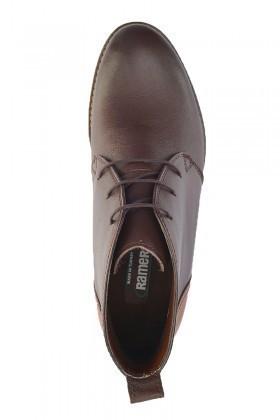 Ramero Kahverengi-Taba RMR-520 Hakiki Deri Erkek Yarım Bot