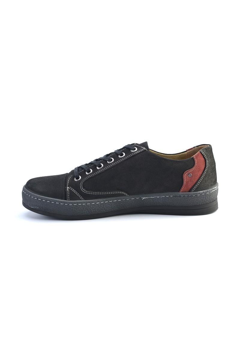 Pandew Siyah PNDW-551 Hakiki Deri Erkek Ayakkabı
