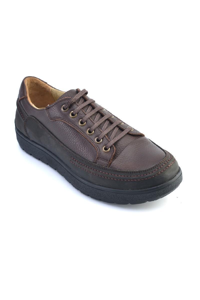 Pandew Kahverengi PNDW-456 Hakiki Deri Erkek Ayakkabı