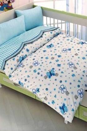 Altınbaşak Mavi DD-43210033 Altınbaşak Bebek Nevresim Takımı Çitlembik