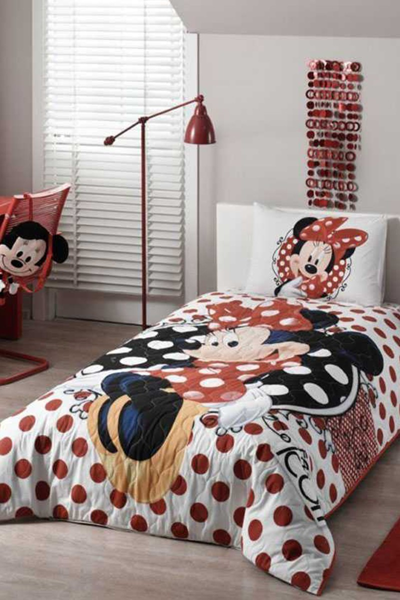 Taç Beyaz-Kırmızı DD-60101547 Taç Lisanslı Complete Set Minnie