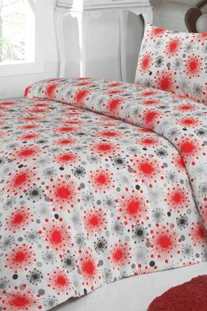 Gülin Işıl Kırmızı DD-60893672 Gülin Işıl Çift Kişilik Nevresim Takımı