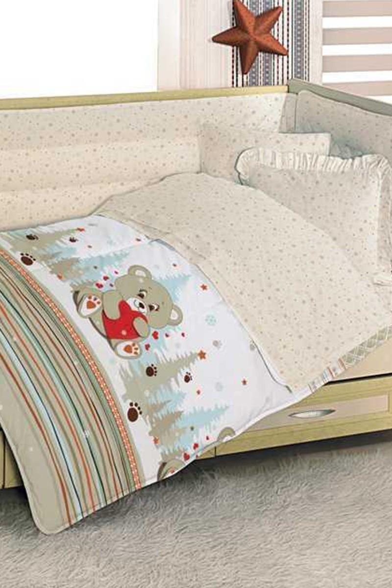 Altınbaşak Kahverengi DD-43410007 Altınbaşak Ayicik Bebek Uyku Seti