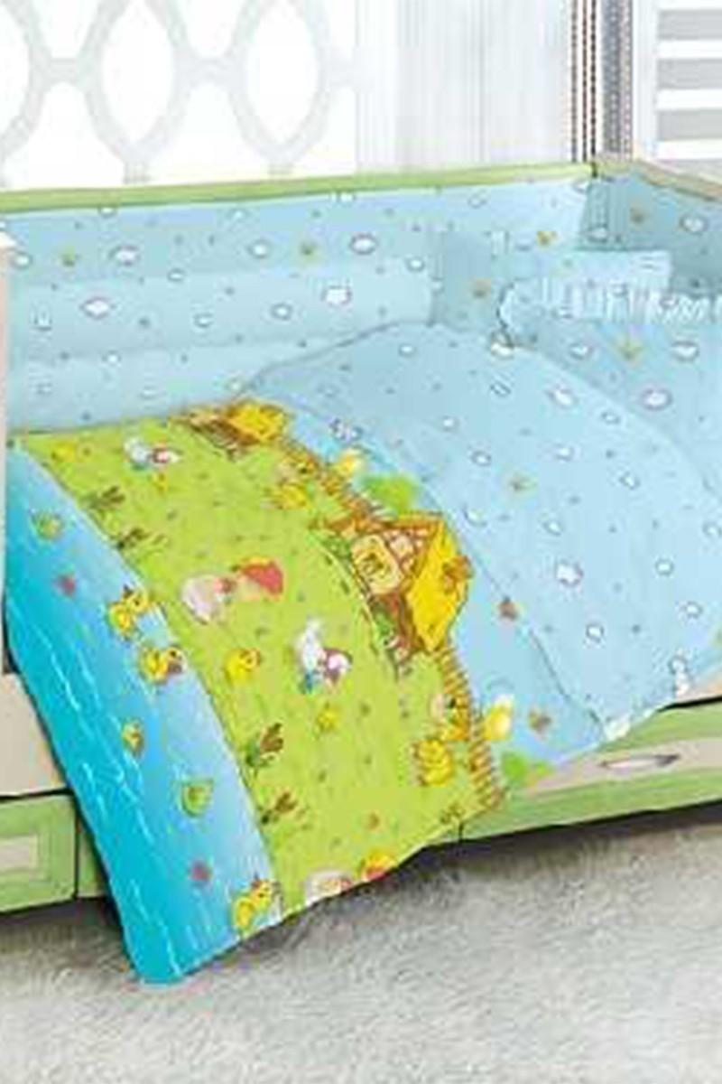 Altınbaşak Mavi DD-43410009 Altınbaşak Dream Garden Bebek Uyku Seti