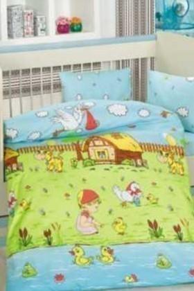 Altınbaşak Yeşil DD-43210025 Altınbaşak Bebek Nevresim Takımı Dream Garden