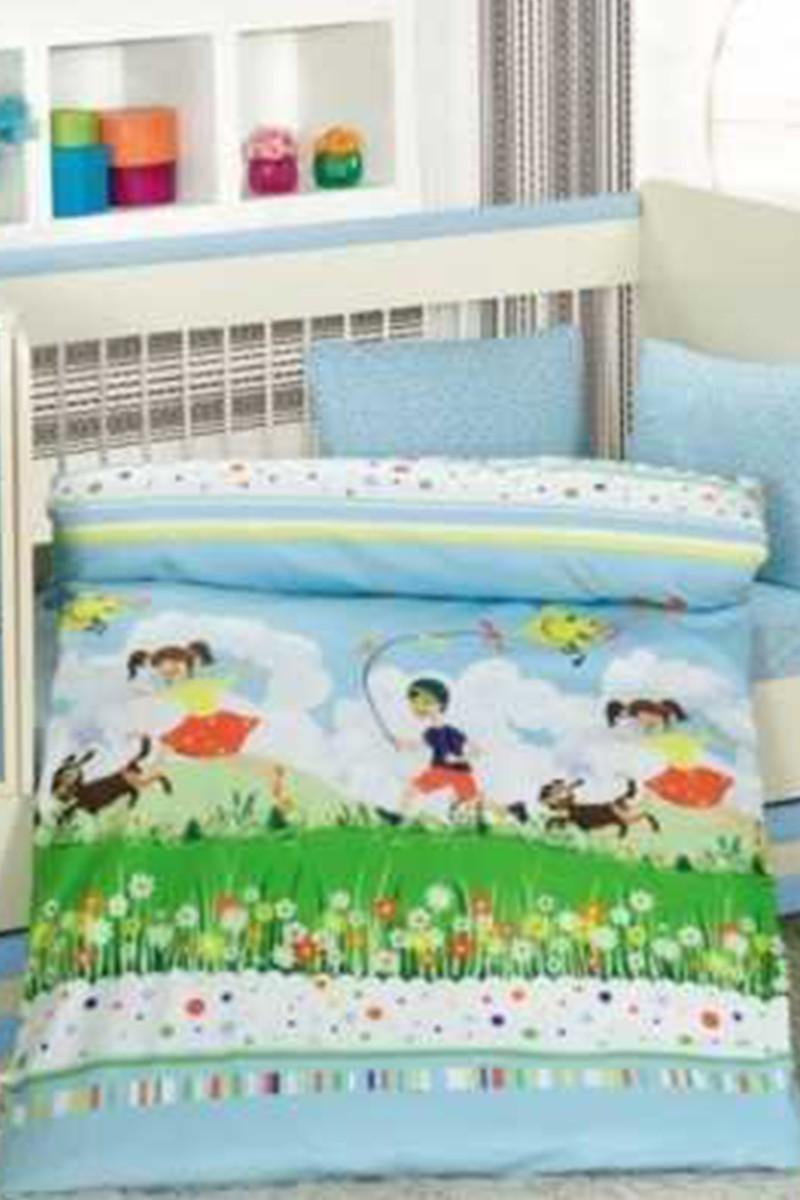 Altınbaşak Mavi DD-43210014 Altınbaşak Bebek Nevresim Takımı Tinimini