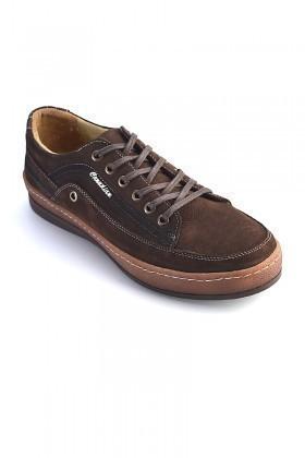 Pandew Kahverengi PNDW-554 Hakiki Deri Erkek Ayakkabı