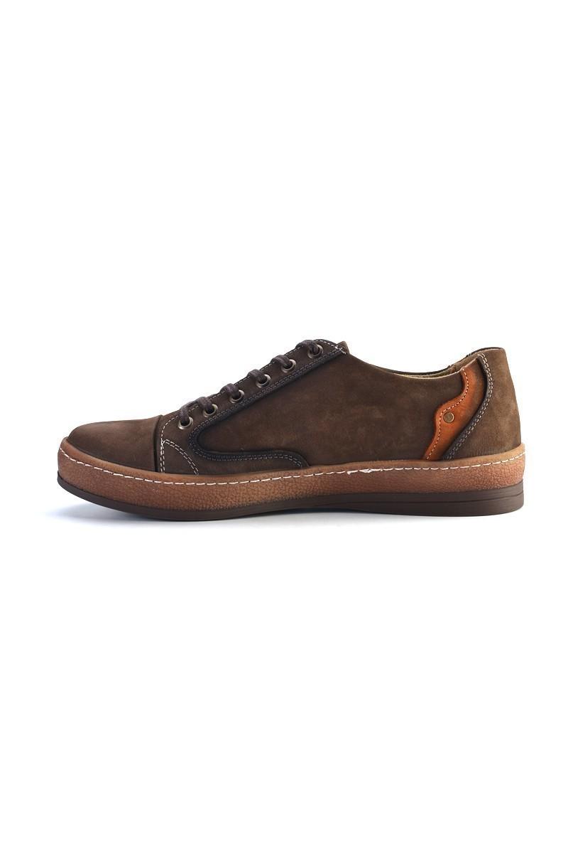Pandew Kahverengi PNDW-551 Hakiki Deri Erkek Ayakkabı