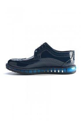 Pandew Mavi PNDW-8080-RUGAN Hakiki Deri Erkek Ayakkabı