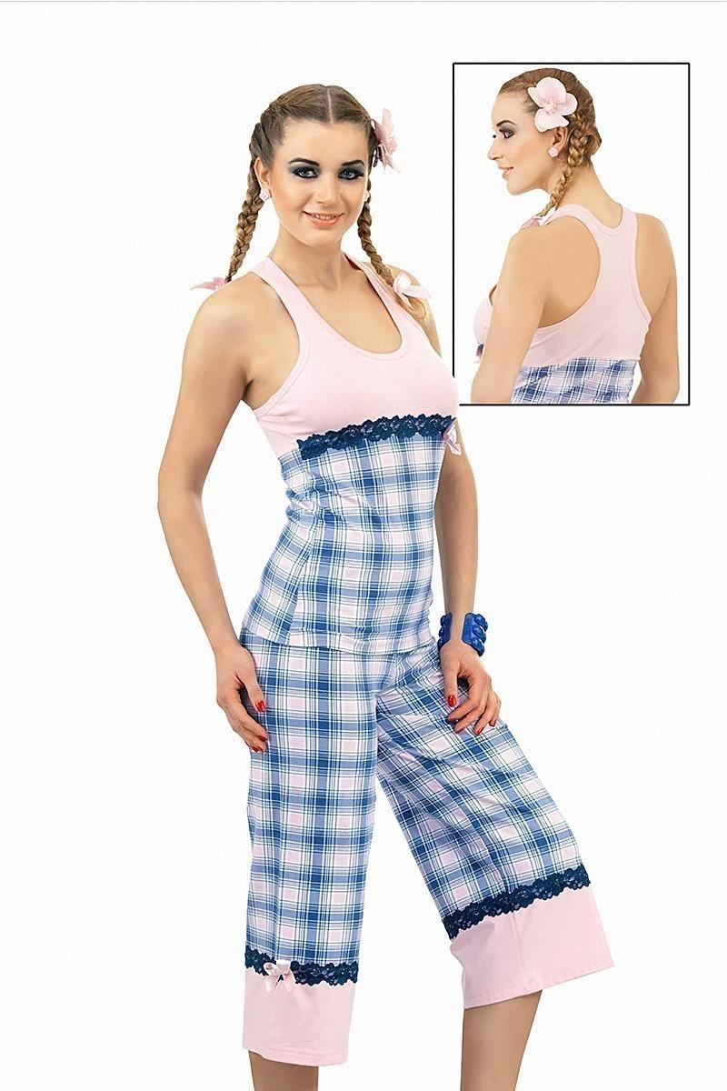 Lady Lingerie Mavi LL-3500 Bayan Pijama