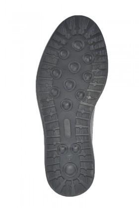 Pandew Siyah-Bordo PNDW-8080-RUGAN Hakiki Deri Erkek Ayakkabı