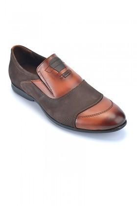 Pandew Kahverengi-Taba PNDW-136 Hakiki Deri Erkek Ayakkabı