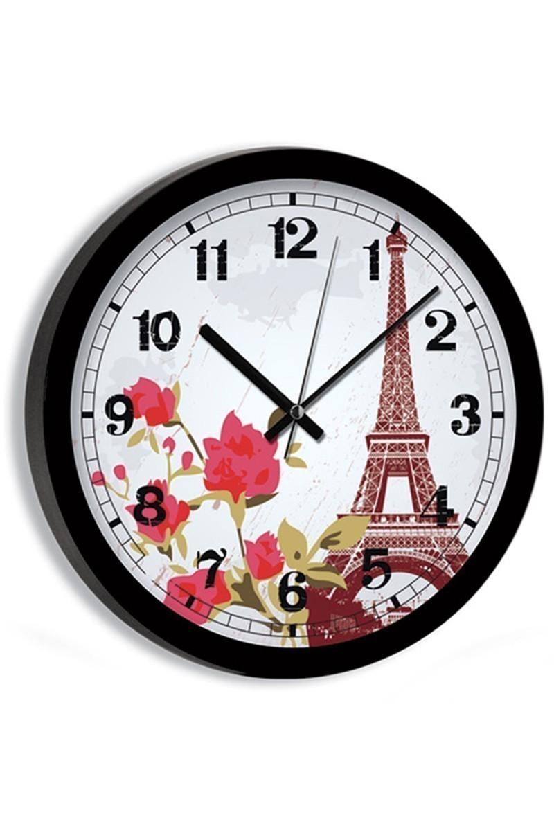 BS Beyaz BS-TG248C-1 Paris Duvar Duvar Saati