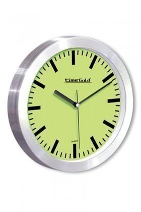 BS Yeşil BS-TG184Y Trendy Metal Duvar Saati