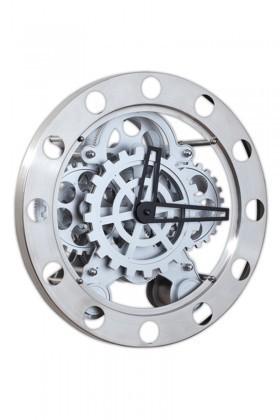 BS Metal BS-TG103 Metal Çarklı Duvar Saati