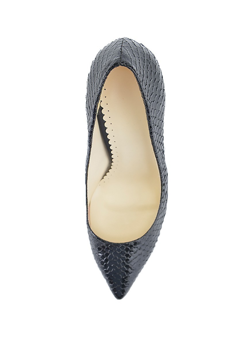 Moda Vindy Siyah MVD-STLT-011 Stiletto Topuklu Bayan Ayakkabı