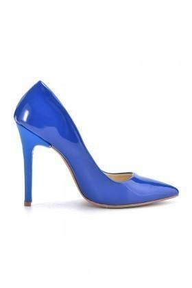 Moda Vindy Saks MVD-STLT-008 Stiletto Topuklu Bayan Ayakkabı