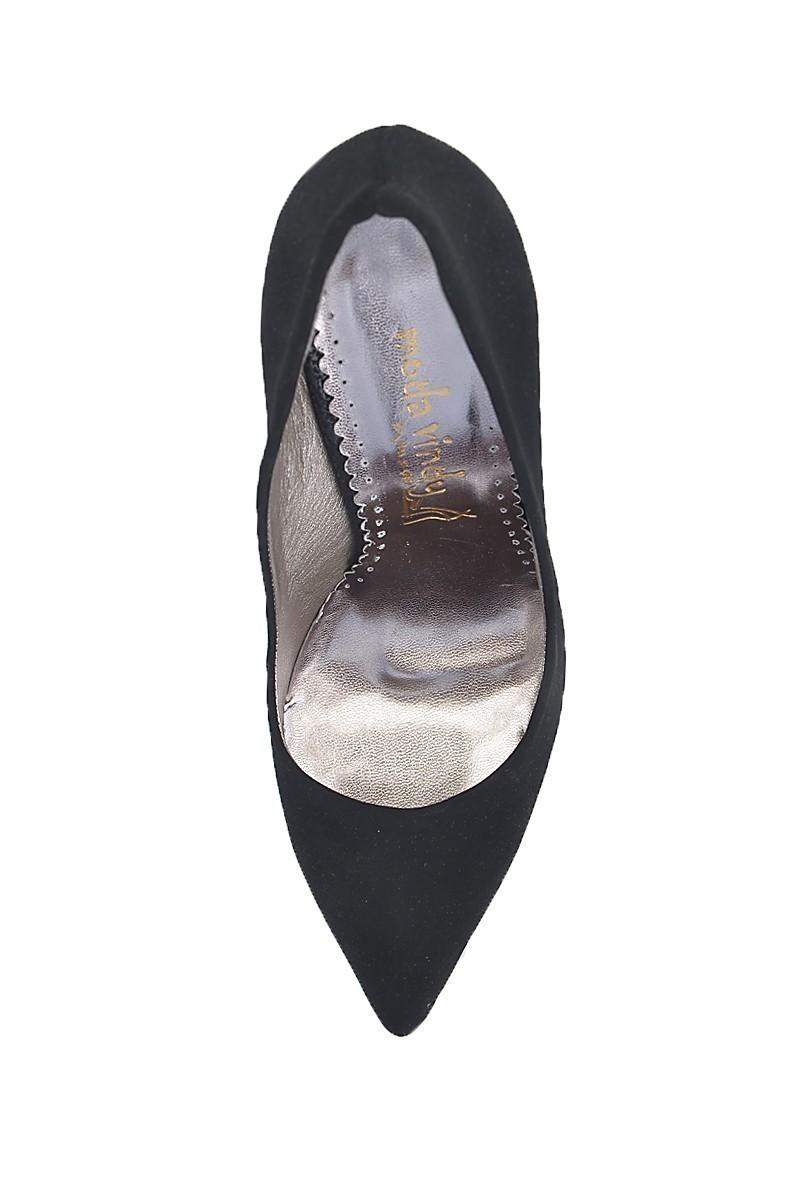 Moda Vindy Siyah MVD-STLT-001 Stiletto Topuklu Bayan Ayakkabı