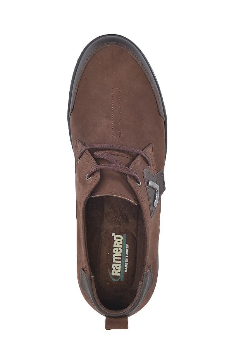 Ramero Kahverengi-Siyah RMR-4008 Hakiki Deri Erkek Ayakkabı