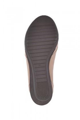 Divadonna Vizon DVNN-5512 Hakiki Deri Bayan Ayakkabı
