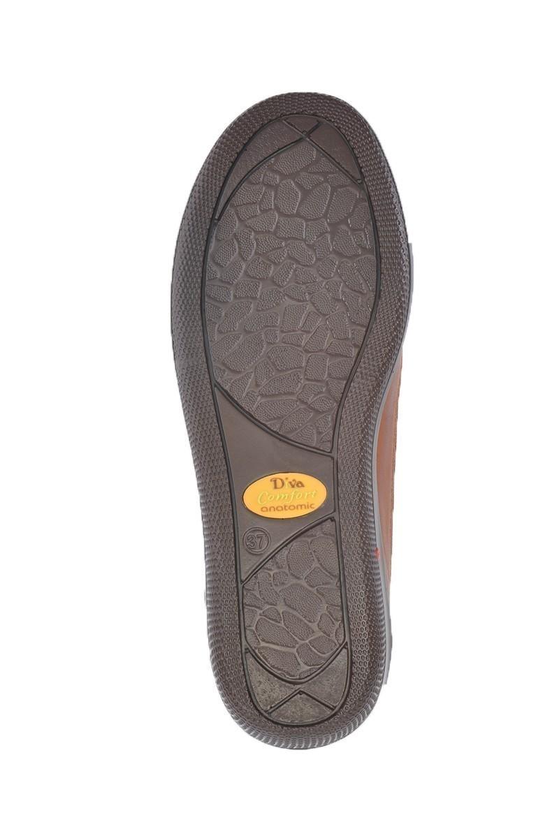 Divadonna Taba DVNN-306 Hakiki Deri Bayan Ayakkabı