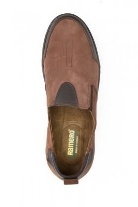 Ramero Kahverengi-Siyah RMR-4007 Hakiki Deri Erkek Ayakkabı