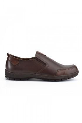 Ramero Kahverengi RMR-4007-DERI Hakiki Deri Erkek Ayakkabı