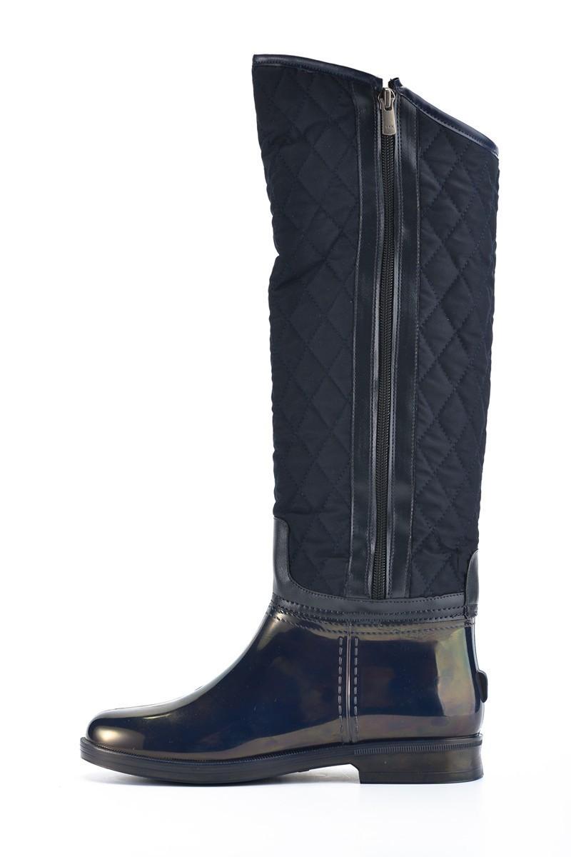 OB Lacivert OB-13673 Bayan Çizme