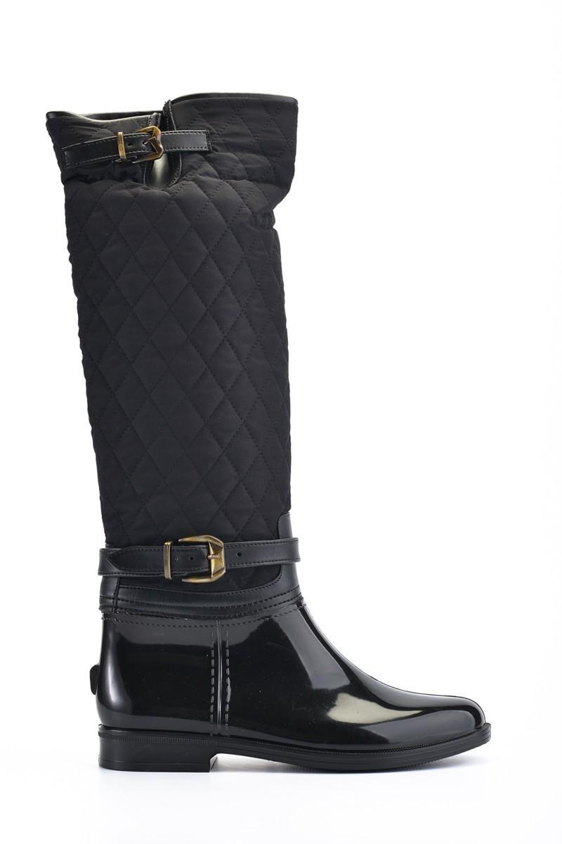 OB Siyah OB-13670 Bayan Çizme