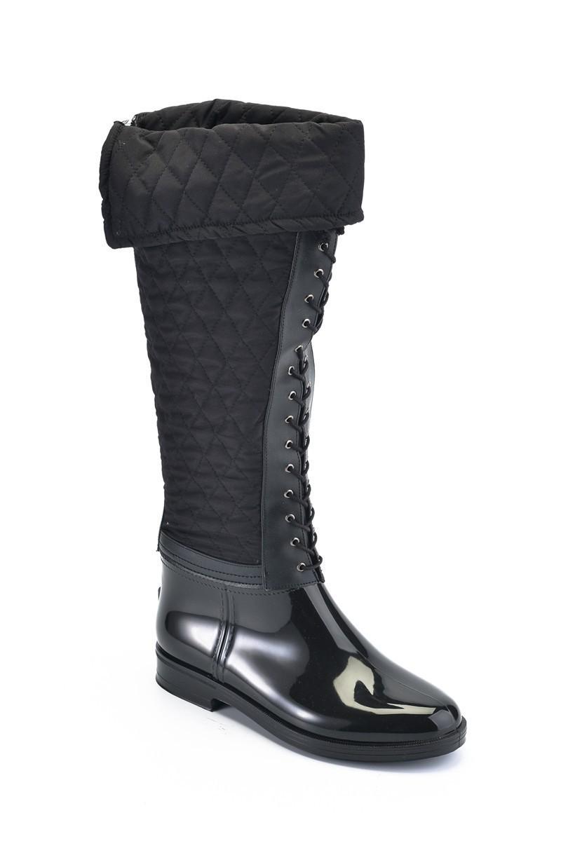 OB Siyah OB-13667 Bayan Çizme