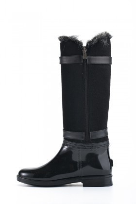 OB Siyah OB-13664 Bayan Çizme
