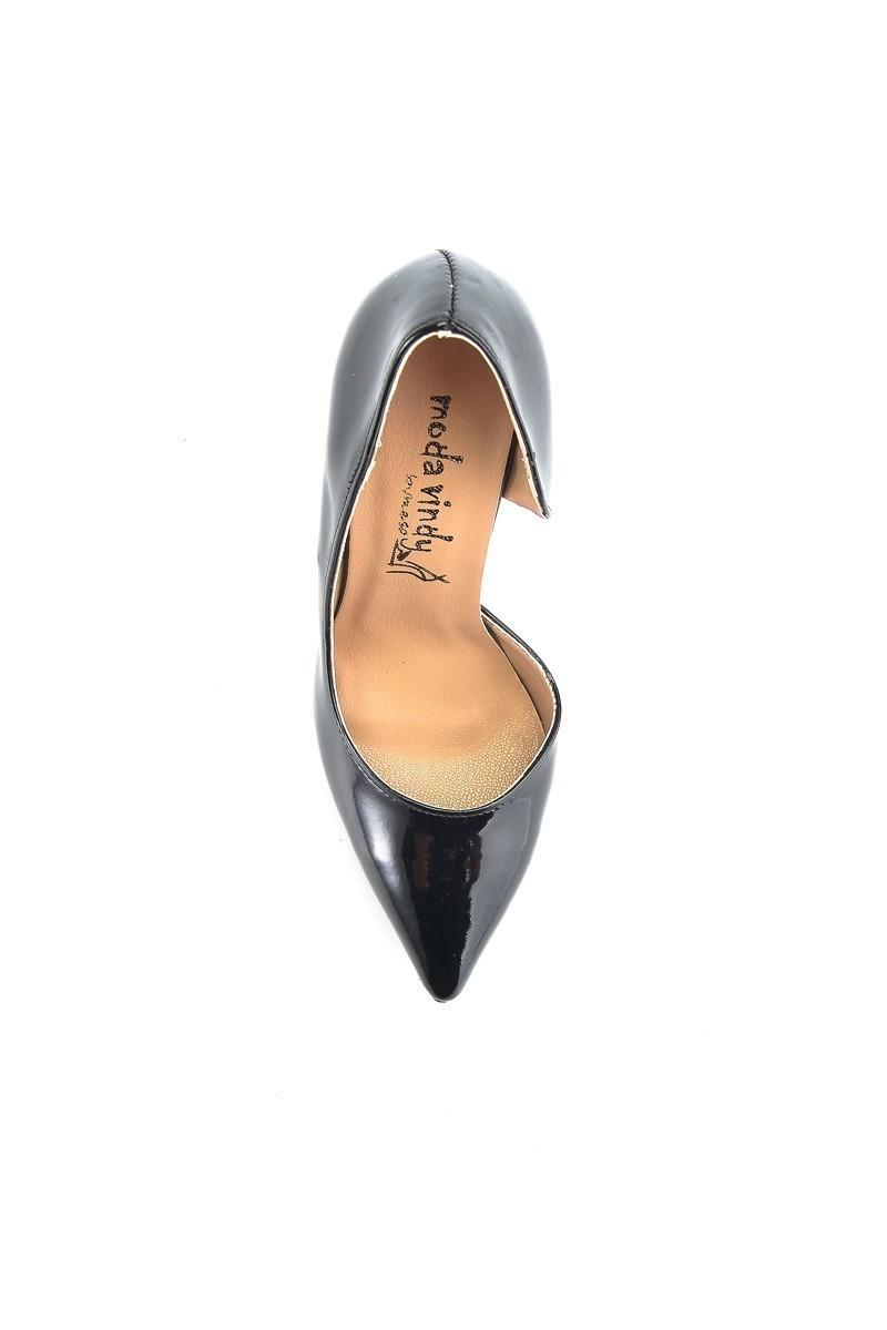 Moda Vindy Siyah MVD-STLT-820 Stiletto Topuklu Bayan Ayakkabı