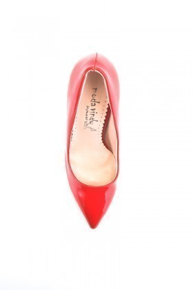 Moda Vindy Kırmızı MVD-STLT-600 Stiletto Topuklu Bayan Ayakkabı