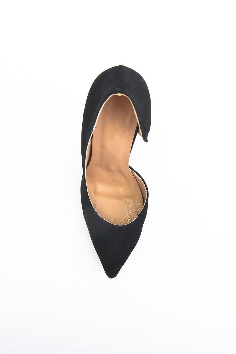Moda Vindy Siyah MVD-STLT-500 Stiletto Topuklu Bayan Ayakkabı