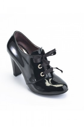 Moda Vindy Siyah MVD-KLSK-1818 Klasik Topuk Bayan Ayakkabı