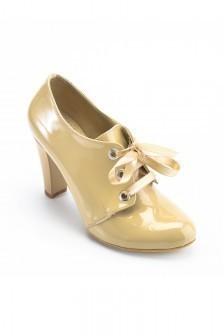 6c63dba6fda2a Moda Vindy Bej MVD-KLSK-1818 Klasik Topuk Bayan Ayakkabı