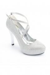 Platform Topuk Bayan Ayakkabı